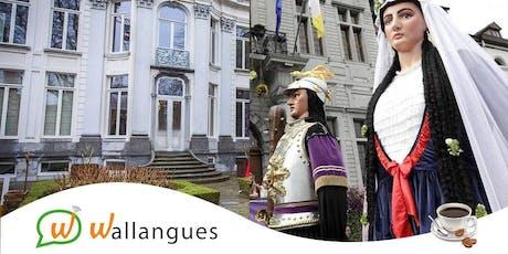 Café-Langues + Visite de la Maison des Géants - Ath billets