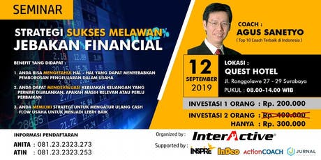 [PAID] Seminar Strategi Sukses Melawan Jebakan Financial tickets