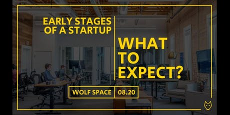 Early stages of a startup: what to expect? tickets
