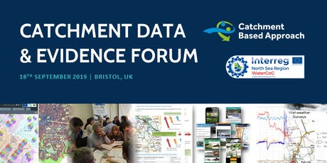 Catchment Data and Evidence Forum 2019 tickets