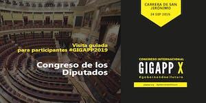 Visita Guiada Congreso de los Diputados