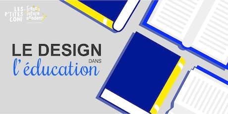 Le design: l'avenir de l'éducation ? billets