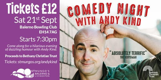 Comedy night with Andy Kind