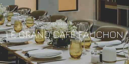 """Grand Café Fauchon - Menu dégustation """"Les Vignerons à la table de Fauchon"""""""
