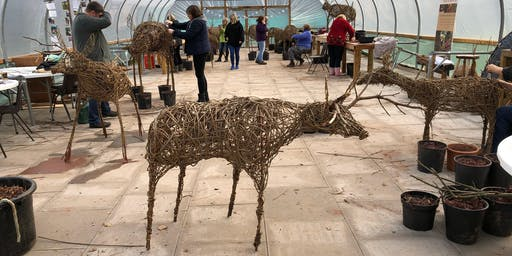 Make your own Willow Reindeer at Hilton Green