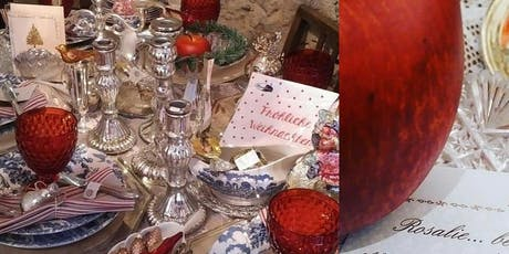 Shabby Vintage Antik Kitzingen Winter Weihnacht' Villa Sommerach byROSA Tickets