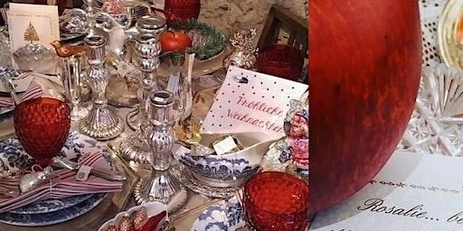Shabby Vintage Antik Kitzingen Winter Weihnacht' Villa Sommerach byROSA