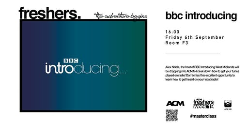 MASTERCLASS: BBC Introducing