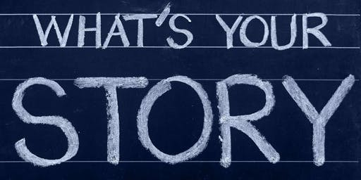 Storytelling – creating your personal brand.