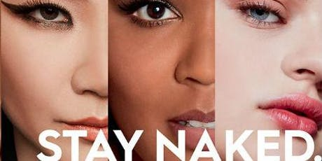 Urban Decay Stay Naked Masterclass tickets