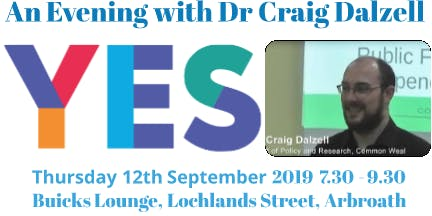 An Evening with Dr Craig Dalzell