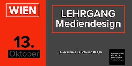 Berufsbegleitender Diplomlehrgang Mediendesign Tickets