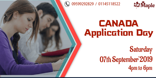 Canada Application Day - 7th September'19