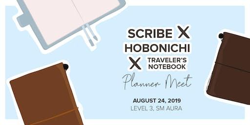 Scribe x Hobonichi x Traveler's Notebook Meet