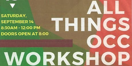 All Things OCC Workshop tickets