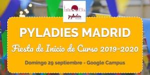 Fiesta de Inicio de Curso 2019-2020 PyLadies