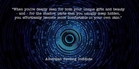 Circling - Transformational Authentic Relating tickets