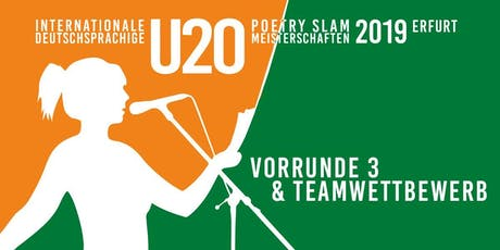 POETRY SLAM U20 Meisterschaften Tickets