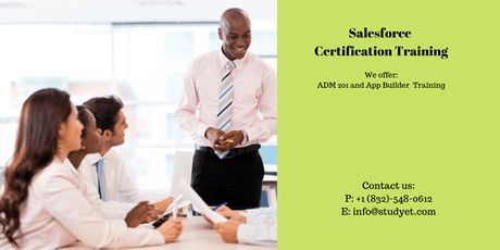 Salesforce Admin 201 Certification Training in Wilmington, NC tickets