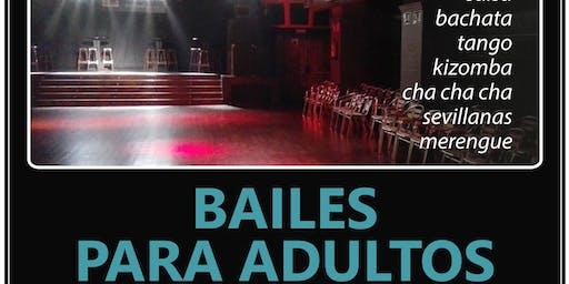 Baile para Adultos. Adult dances