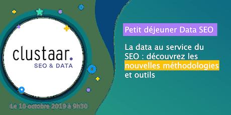 Petit déjeuner Data SEO : Découvrez les nouvelles méthodologies et outils pour mettre la data au service du SEO tickets