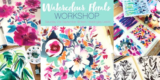 Expressive Floral Watercolour Workshop