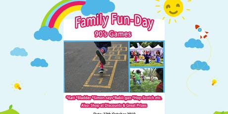 Family Fun Day: 90's Games tickets