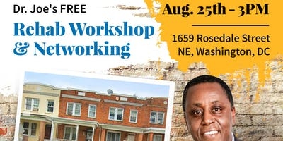 FREE Rehab Workshop and Networking