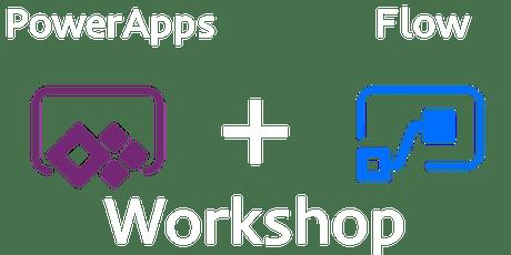 PowerApps + Flow Workshop tickets