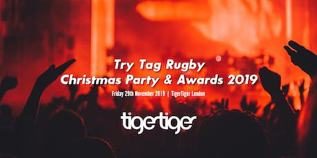 Try Tag Rugby Christmas Party tickets