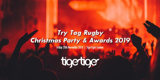 Try Tag Rugby Christmas Party