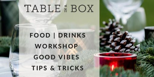 ***Christmas Workshop***    Table in a Box