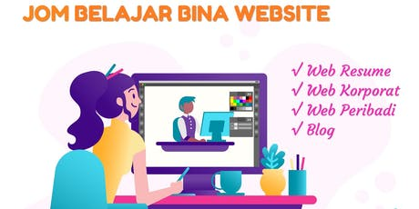 Kelas Bina Website Gaya Ekspres tickets