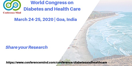 World Congress on Diabetes and Health Care tickets