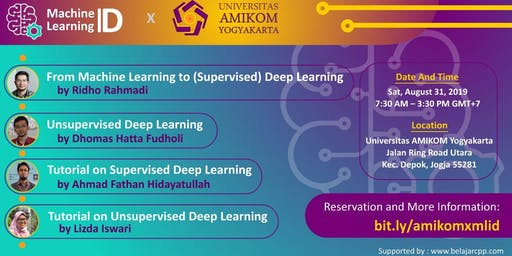Meetup Amikom X Machine Learning ID