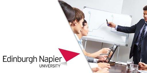 Edinburgh Napier University MBA Webinar Oman- Meet University Professor