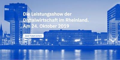 SHOWROOM C - die Leistungsshow der Digitalwirtschaft im Rheinland.