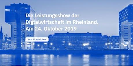 SHOWROOM C - die Leistungsshow der Digtalwirtschaft im Rheinland. Tickets