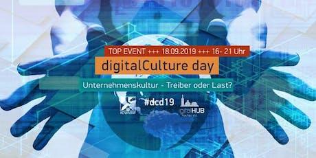 #dcd19 – der digitalCulture day im digitalHUB Aachen Tickets