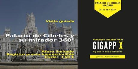 Visita Guiada al Palacio de Cibeles entradas