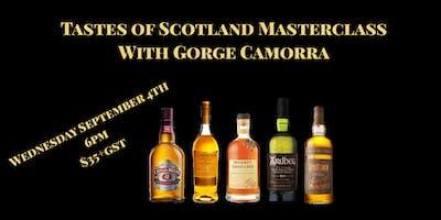 Tastes of Scotland with Gorge Camorra