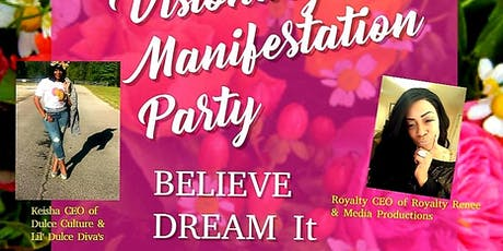 """A Girl with A Goal  """" Visionary Manifestation Party """" tickets"""