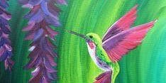 Brunch & Brush: Humming bird