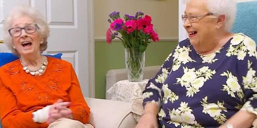 Meet Mary & Marina - How to be a TV star in your later years!