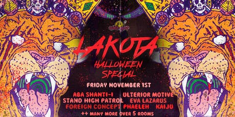 Lakota's Halloween: Dub To Death x Wide Eyes tickets