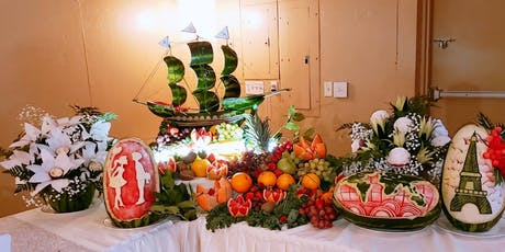 Fruit Carving  Training tickets