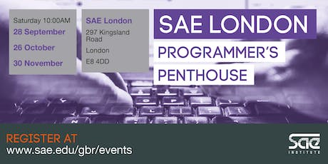 SAE London: Programmer's Penthouse tickets