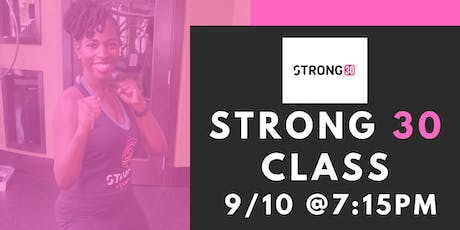 Strong by Zumba Fitness Class tickets