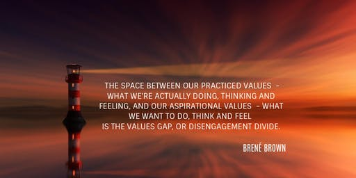 Identify YOUR CORE VALUES