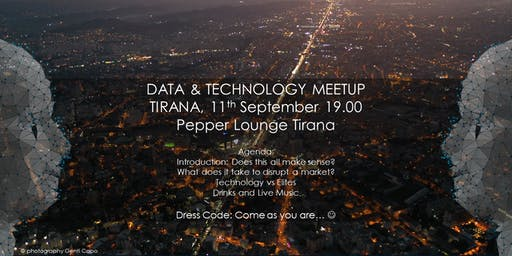 DATA & TECHNOLOGY MEETUP